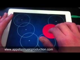 iPadアプリ「Orphion」琴のような現打楽器 450円→無料中
