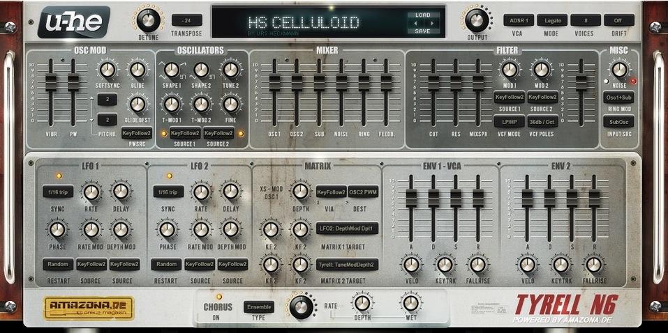 Tyrell-V3-Synthesizer