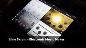 iPad用 Liineからエレクトロ・ミュージック制作アプリ「Skram」登場!