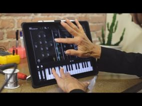 iPhone/iPad用 Moog社からモジュラー・シンセサイザー「Model 15」アプリ登場!