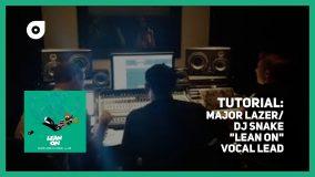 サンプリング・リード・ヴォーカル・サウンドの作り方 メジャー・レイザー 「Lean On」 Logic EXS24
