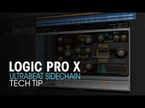 DAW Logic テクニック Ultrabeatを使ったSideChainゲート技