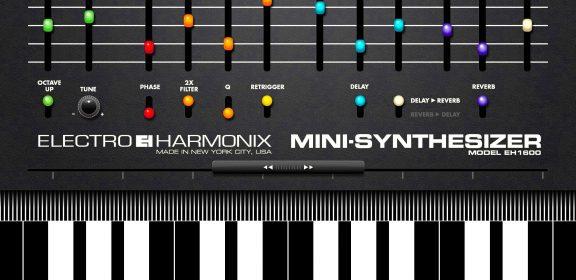 iPad用アプリ エレハモから「Mini Synthesizer」登場!1980年代アナログシンセを再現