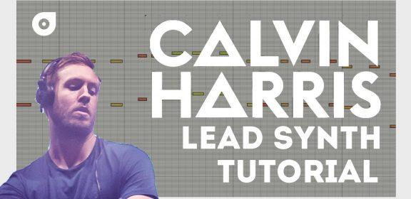 カルヴィン・ハリス リード・シンセの作り方 Logic ES2